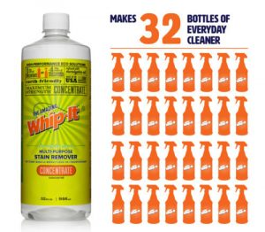 Whip-It® Concentrate Makes 32 Bottles Of Cleaner