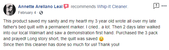 Annette Leal Facebook Review