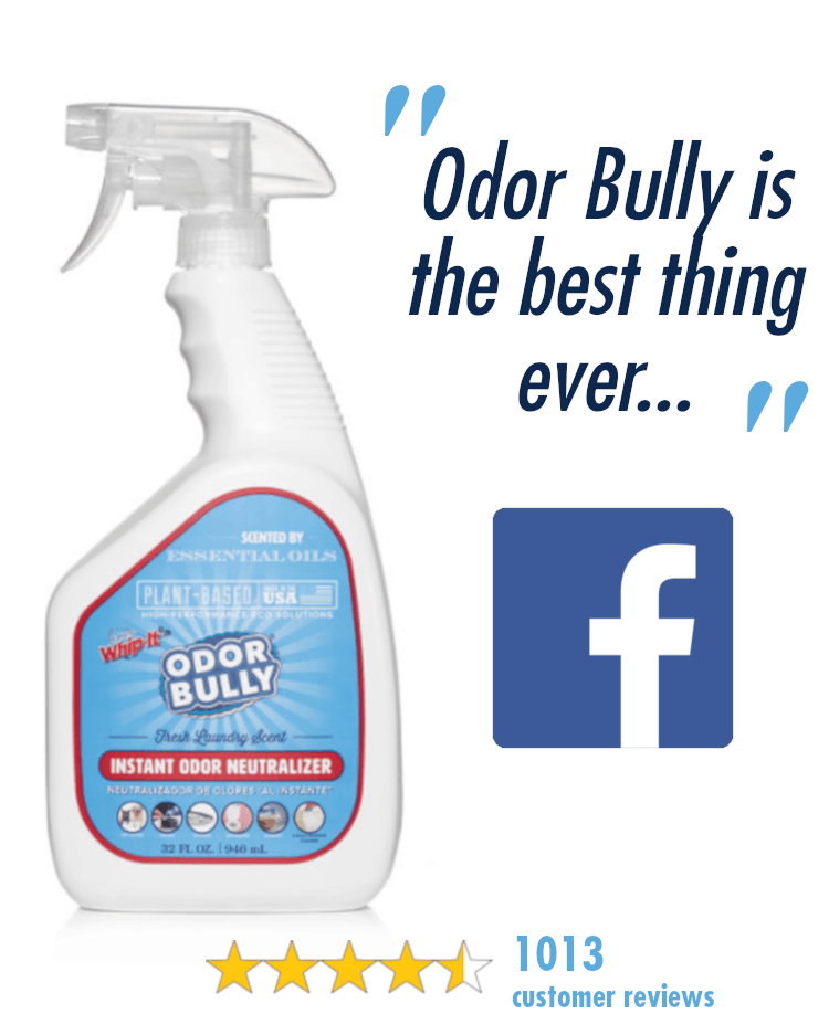 Whip It ® Cleaner & Stain Remover, Odor Bully® | Whip It Inventions
